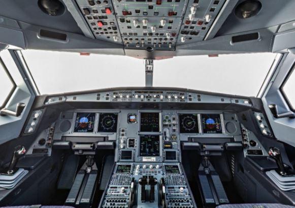 Airbus ACJ319neo cockpit