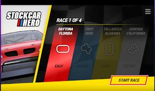 Jogo grátis Stockcar Hero online jogo de carro