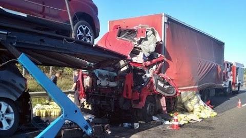 Halálos baleset az M1-es autópályán Győr közelében
