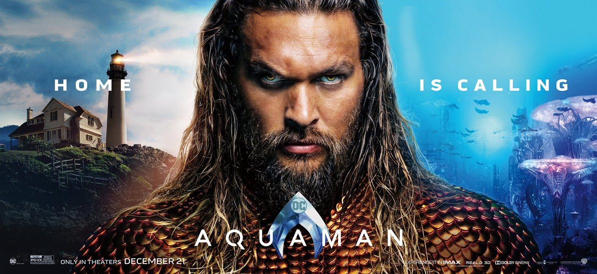 Aquaman : DCコミックスのヒーロー映画「アクアマン」が、海の王者の生い立ちを紹介し、目を見張る海底の王国の光景とアクションの見せ場を披露した最終版の予告編をリリース ! !