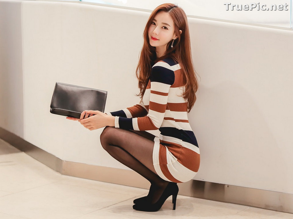 Image Korean Fashion Model – Hyemi – Office Dress Collection #2 - TruePic.net - Picture-2