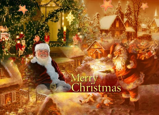 Santa clause wallpaper