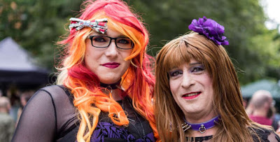 UK transgender community celebrate at the Sparkle festival