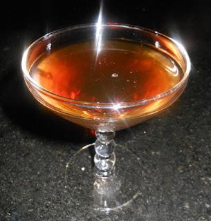 charles h. baker jigger beaker glass