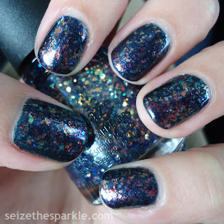 China Glaze Moonlight the Night Mani