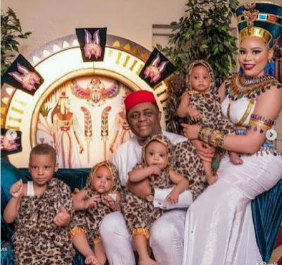 Fani-Kayode and family