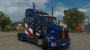 USA Skin for Kenworth T800