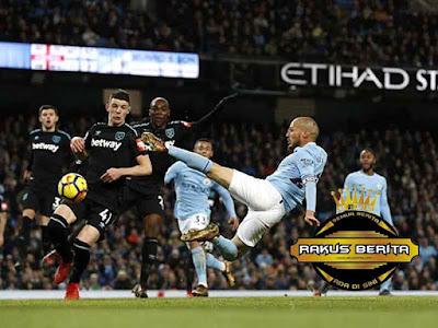 David Silva Jadi Pahlawan City Saat Menjamu West Ham United