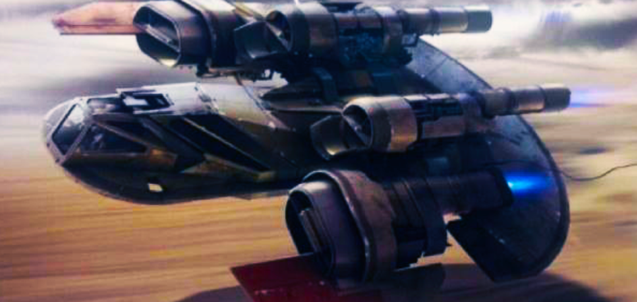 Tatooine Smuggler Ship