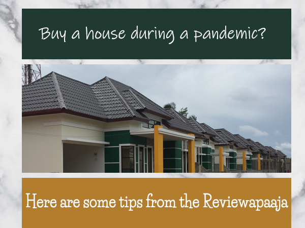 Buy a house during a pandemic? Here are some tips from the Reviewapaaja