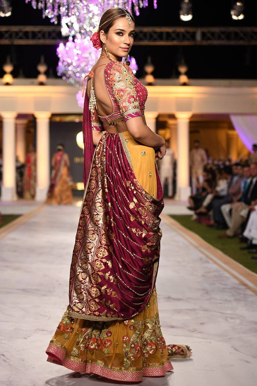 Pakistani Birdal Dress by Deepak Perwani
