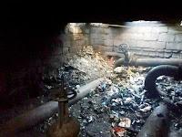 Пожар в коллекторе теплотрассы, есть погибший
