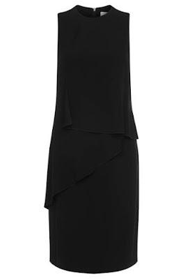 Foto van Hugoboss: Mouwloze jurk met volants:'Dalynea'