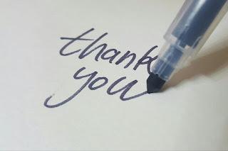 Cara Menulis Ucapan Terima Kasih