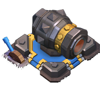 Cannon Level 16  clash of clans
