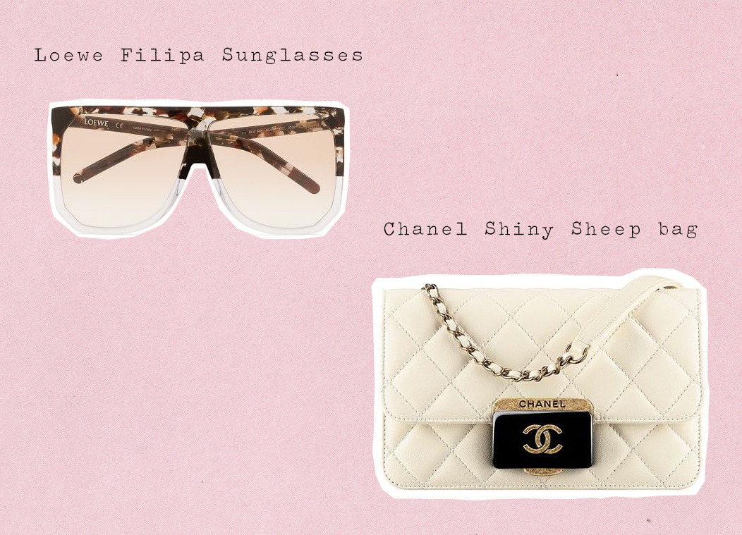 Wish List || Loewe Filipa Sunglasses || Chanel Shiny Sheep Bag || accessories, sunglasses, bags || Allegory of Vanity