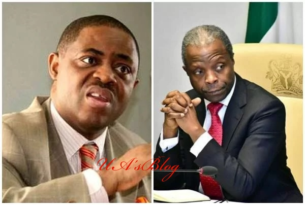 Herdsmen killings: You are very sick – Fani-Kayode attacks Osinbajo