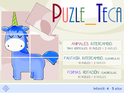 Puzle_teca Infantil 30 puzles x 3 niveles.