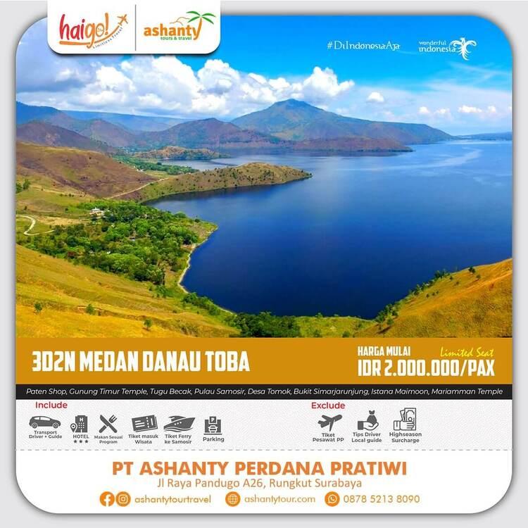 paket wisata danau toba 4 hari 3 malam dari surabaya jakarta