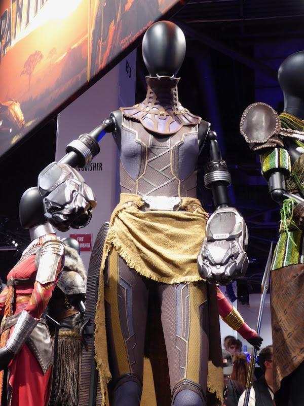 Letitia Wright Black Panther Shuri costume