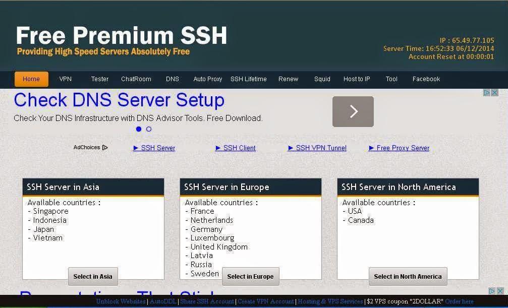 Cara buat ssh fastssh.com Terbaru