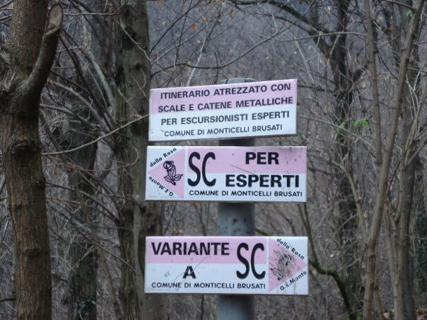 Sentiero Cascate Monticelli Brusati (Brescia)  Gite e vacanze in Lombardia