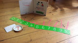 pochette chiffres rugueux Montessori Nathan comptage Maternelle test avis chronique blog