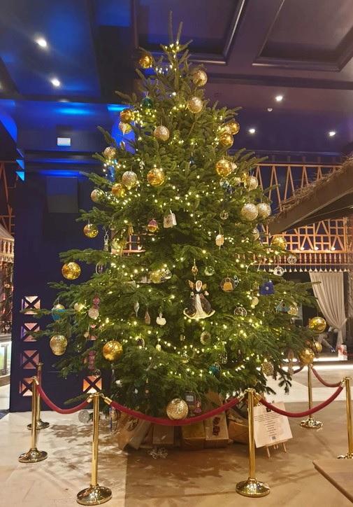 L'albero di Natale più costoso in Spagna: 14 milioni di euro