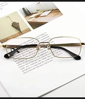 Agstum Titanium full-rim durable glasses