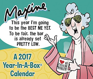Maxine Year-In-A-Box Calendar 2017