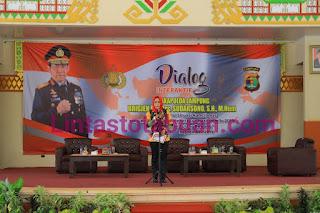 Dialog Interaktif, Bupati Tulang Bawang Sambut Kedatangan Wakapolda Lampung