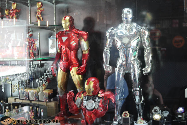 Iron Man Collection in Megawatt Restaurant