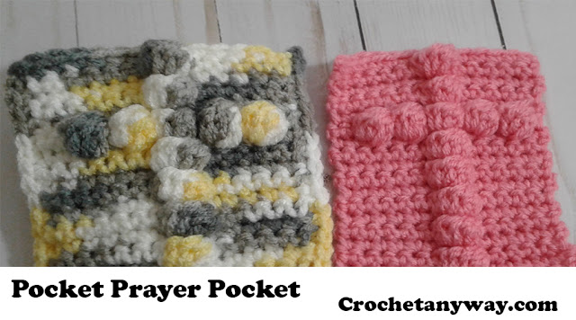 crochet cross square
