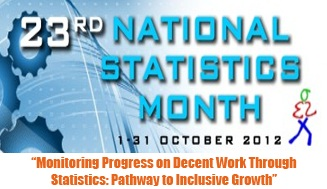 23rd National Statistics Month Celebration Schedule of