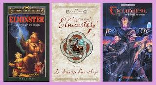 portadas del libro Elminster: la forja de un mago, de Ed Greenwood