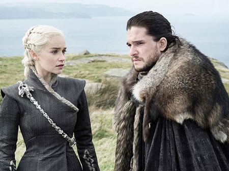 Game of thrones 7 сезон Денерис и Джон се влюбват