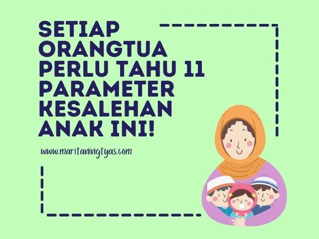 11 parameter kesalehan anak