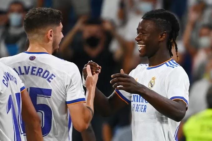 Benzema hit three and Camavinga scores debut as Real Madrid defeat Celta 5-2
