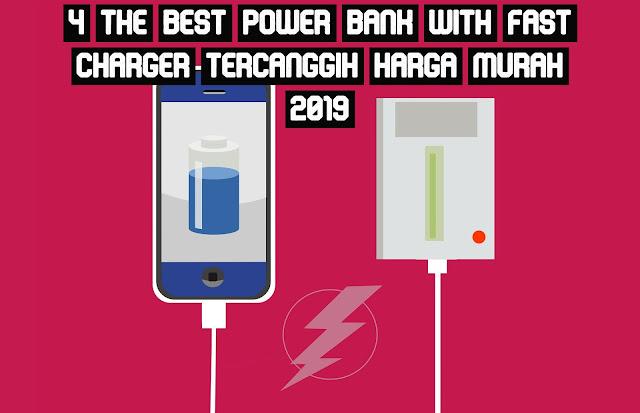 Powerbank Cepat Charging, Tercanggih dan Harga Murah 2019