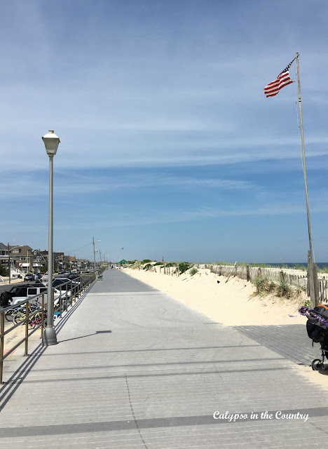Boardwalk at the Jersey Shore