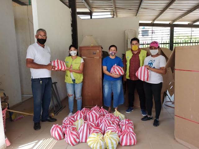 hoyennoticia.com, Corporación Responder donó 400 mercados  familias del Nando Marín