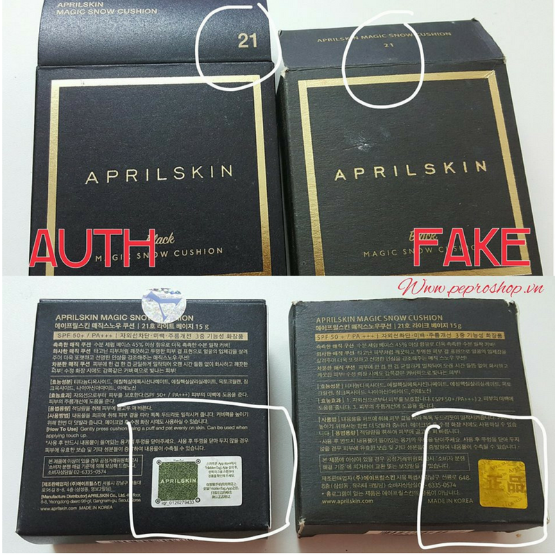 How To Spot A Fake   An Authentic April Skin ... 19cfdfbb9