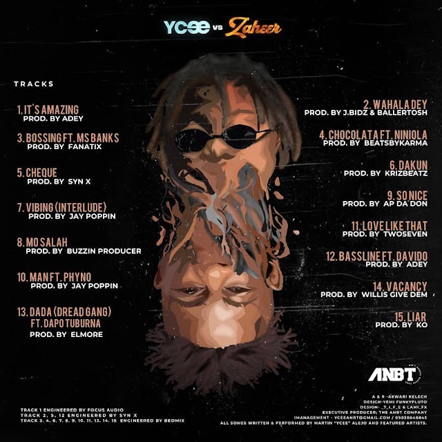 YCee ft. Davido – Baseline (Music)