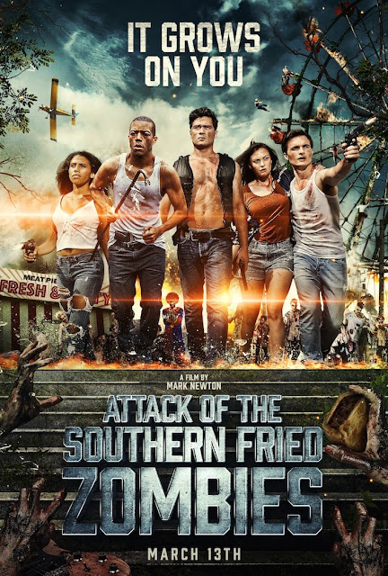 Attack of the Southern Fried Zombies:Poster