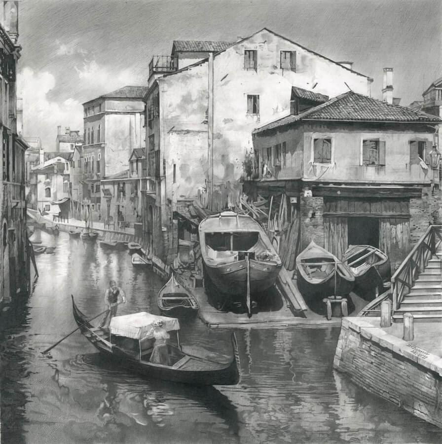 03-Old-Venice-II-Drawings-Denis-Chernov-www-designstack-co