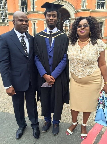 nigerian youngest first class graduate london