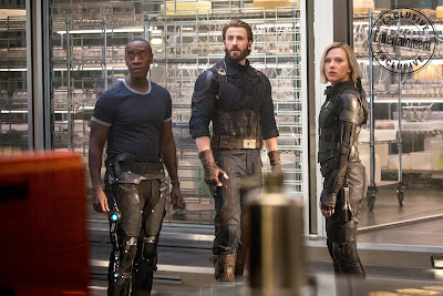 Avengers Infinity War James Rhodes War Machine Steve Rogers Captain America Natasha Romanoff Black Widow