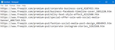link premium freepik