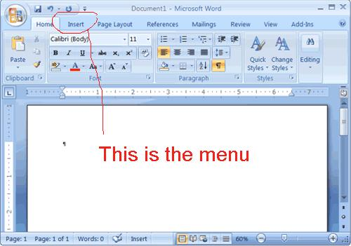 A Simplified MS-Word Application