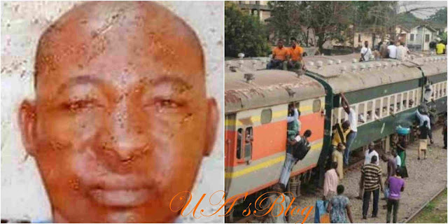 Horror: Speeding Train Crushes Police Inspector, Motorcyclist To Death In Lagos